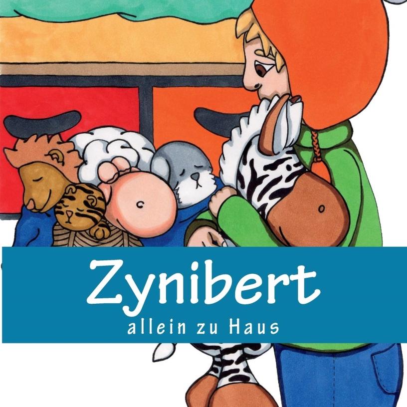 Zynibert Allein Zu Haus Bleib Gestreift